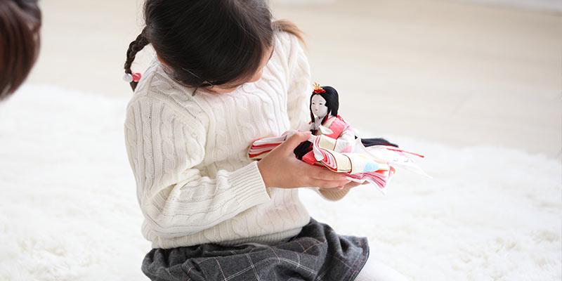 飾る 日 雛人形