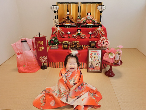 明紗ちゃん 『笑顔いっぱい!ひなまつり!』